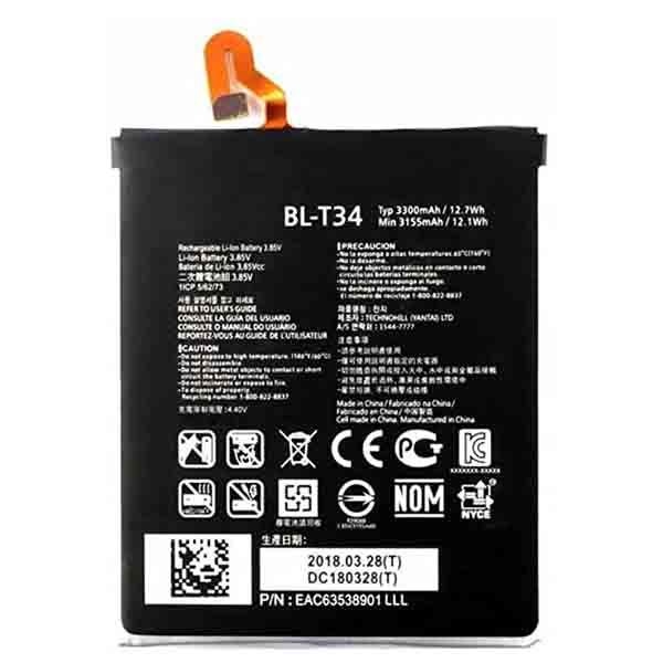 Sustitución de Batería LG V30 BL-T34