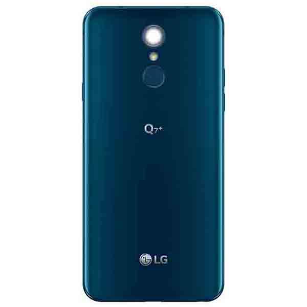 Sustitución Tapa de Batería Azul LG Q7 Plus