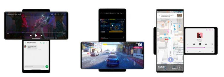 LG WING mejora su experiencia de usuario móvil